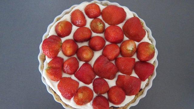 Alletiders Kogebog Jordbærtærte jordbærkage opskrift marcipan – meancomfortable