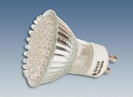 GU10 60 diode LED warm white